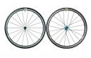MAVIC 2016 Paire de Roues KSYRIUM ELITE Sram/Shimano Bleu + pneus Yksion/Powerlink
