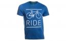 LeBram T-Shirt RIDE Bleu Roi