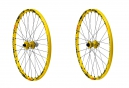 MAVIC 2015 Paire de Roues DEEMAX ULTIMATE | 26'' | Av 20 mm | Ar 12 x 135/142mm | 6 Trous