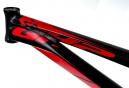 GHP Cadre BMX 2016 Noir/Rouge