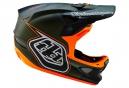 Casque intégral Troy Lee Designs D3 COMPOSITE BERZERK 2016 Vert Orange