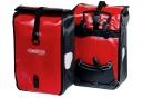 ORTLIEB Paire de Sacoches Porte-Bagage Avant FRONT-ROLLER CLASSIC Rouge Noir