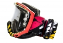SMITH Masque FUEL V2 SWEAT X PASTRANA Rouge Noir - Transparent + Roll-Off