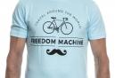 LeBram T-Shirt Freedom Machine Bleu Roi